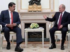 Em Moscou, Putin reafirma apoio a Maduro e a diálogos com oposição venezuelana