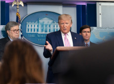Trump ameaça cortar contribuições dos EUA à OMS