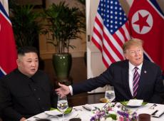 Donald Trump e Kim Jong-un encerram primeiro dia de cúpula no Vietnã