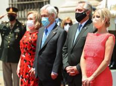 Presidente da Argentina reabre agenda internacional com primeira visita ao Chile