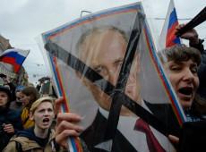 Rusia: Las protestas contra Putin cobran fuerza y se extienden por 85 ciudades del país