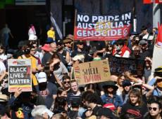 Milhares de australianos protestaram contra alta taxa de mortes de aborígenes sob custódia