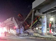 Viaduto do metrô da Cidade do México desaba e deixa mais de 20 mortos