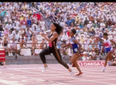 Seul, 1988: Florence Griffith-Joyner quebra recordes no atletismo e registra tempo quase imbatível nos 100 metros