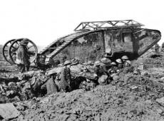 Hoje na História: 1915 - Exército britânico testa o primeiro modelo de tanque de guerra
