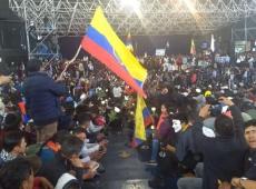 Governo de Moreno está clinicamente morto, diz ex-presidente Rafael Correa