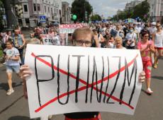 Para Kremlin, protestos que pedem liberdade de Nalvany são impulsionados pelos EUA