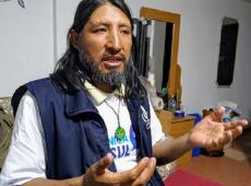 """David Inca: """"na Bolívia temos hoje uma agressão cruel e covarde aos direitos humanos"""""""