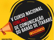 Inscrições para o curso de comunicação do Barão de Itararé terminam na sexta
