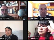 PARLASUR se reúne con la Misión de Observación Electoral de la UE para Bolivia