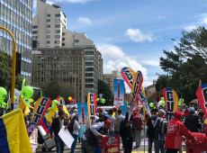 Colombianos vão às ruas em nova marcha nacional após fracasso nas negociações com governo