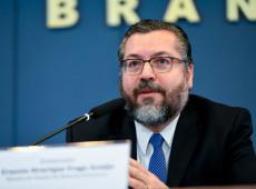 'Comunavírus': chanceler brasileiro fala em 'conspiração comunista' para dominar mundo pós-pandemia