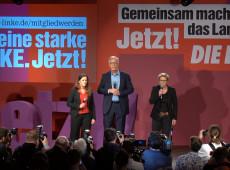 Esquerda alemã flerta com cláusula de barreira, mas garante presença no Parlamento