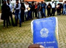 Brasil já detém 7,2% dos desempregados do planeta, resultado das medidas pós-golpe
