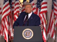 Trump aceita nomeação republicana com discurso de 'lei e ordem' e acusações a Biden