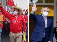 Espero que possamos unir forças em favor da América Latina, diz Fernández sobre Pedro Castillo