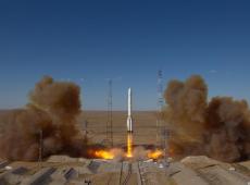 Rússia lança telescópio espacial alemão para mapear cosmo