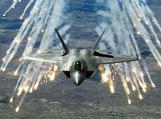 O som da morte dos aviões que, dos EUA, se preparam para atacar a Venezuela