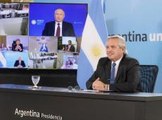 Putin e Fernández formalizam início da produção da Sputnik V na Argentina