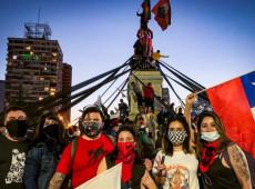 """El """"apruebo"""" a una nueva constitución en Chile arrasa con casi un 80 por ciento de respaldo"""