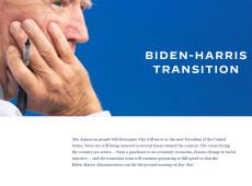 Mesmo ainda sem resultado final, Biden lança site de transição de governo