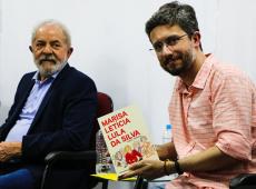 'Marisa vive': em lançamento de biografia, Lula homenageia companheira de mais de quatro décadas