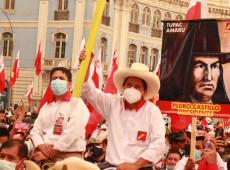 Peru: Boca de urna indica esquerda no 2º turno com Pedro Castillo; cinco candidatos disputam a outra vaga