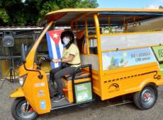 Triciclos elétricos são nova aposta econômica e ambiental de Cuba para 2021