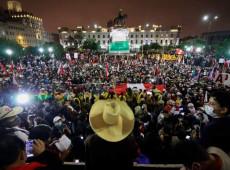 Apoiadores de Pedro Castillo vão às ruas no Peru em apoio ao vencedor das eleições