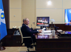 Putin saúda memorando de cooperação Rússia-Reino Unido por nova vacina contra Covid-19