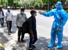 Covid 19: Índia bate novo recorde de casos e enfrenta escassez de oxigênio