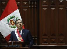 Congresso do Peru rejeita processo de impeachment contra Martín Vizcarra