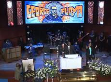 Funeral de George Floyd reúne centenas de pessoas e marca 10º dia de protestos nos EUA