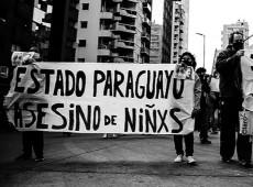 Grupos que protestam contra assassinato de crianças pelo Exército sofrem perseguição no Paraguai