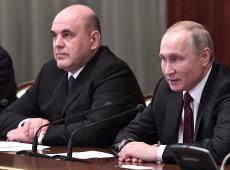 Programas sociais propostos por Putin são prioridade de novo primeiro ministro russo