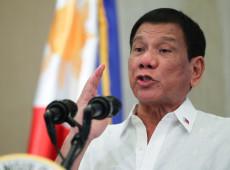 Presidente das Filipinas diz que país 'estaria na merda' se seguisse Brasil e EUA