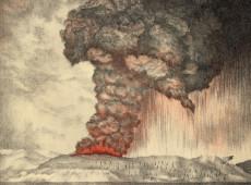 Hoje na História: 1883 - Erupção vulcânica explode ilha de Krakatoa