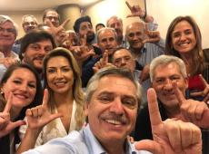 """Contra injustiça, Alberto Fernández pede """"Lula livre"""", grito que ecoa pela Argentina"""