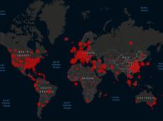Siga EM TEMPO REAL e com gráficos didáticos o avanço do novo coronavírus no mundo