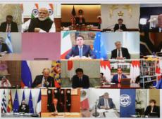 G20 promete injeção de US$ 5 trilhões na economia mundial contra crise do coronavírus