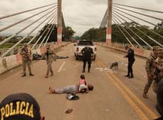 Violência da polícia peruana contra imigrantes que fugiam do Brasil por coronavírus choca