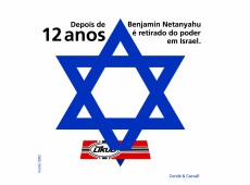 Conde e Carvall: Score! Após 12 anos, Netanyahu perde governo em Israel