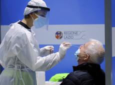 Voo da Índia chega em Roma com 10% dos passageiros infectados