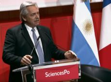 Em Paris, Fernández diz querer 'América Latina unida', independentemente de ideologias