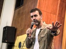 """Em evento, Marcelo Freixo diz que milícia não é poder paralelo, é Estado leiloado"""""""