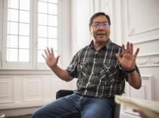 """""""Em três meses destruíram e redolarizaram economia boliviana"""", diz candidato do MAS"""