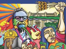 Chilenos celebram o 50º aniversário do triunfo eleitoral do presidente Salvador Allende