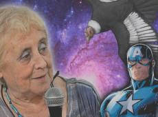 Heroína sem capa, Stella Calloni enfrenta o Capitão América em uma batalha ideológica