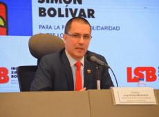Confio no povo brasileiro para reverter tragédia histórica que é Bolsonaro, diz chanceler da Venezuela
