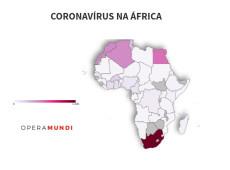 África registra quase 5.000 casos do novo coronavírus; veja mapa